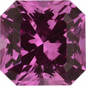 Sapphire Asscher 1.46 carat Pink Photo