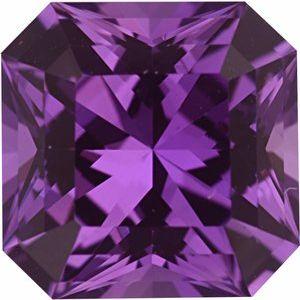 Sapphire Asscher 1.17 carat Pink Photo