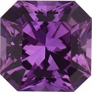 Sapphire Asscher 0.94 carat Pink Photo