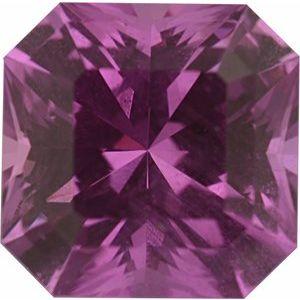 Sapphire Asscher 1.68 carat Pink Photo