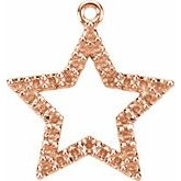 Petite Star Necklace or Dangle