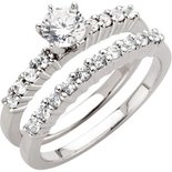 Engagement Rings with Matching Bands