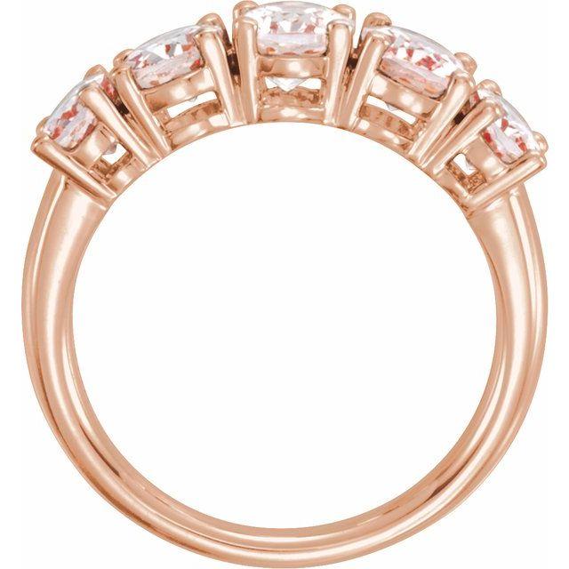 14K Rose Morganite Ring