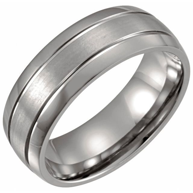 Titanium 8 mm Band Size 10