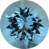 Round Genuine Aquamarine (Notable Gems™)