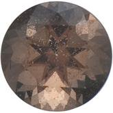 Round SWAROVSKI GEMSTONES™ Genuine Oak Smoky Quartz