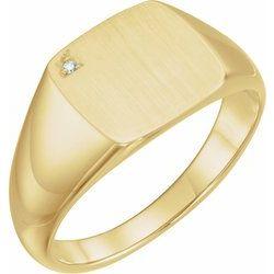 Pánsky pečatný prsteň