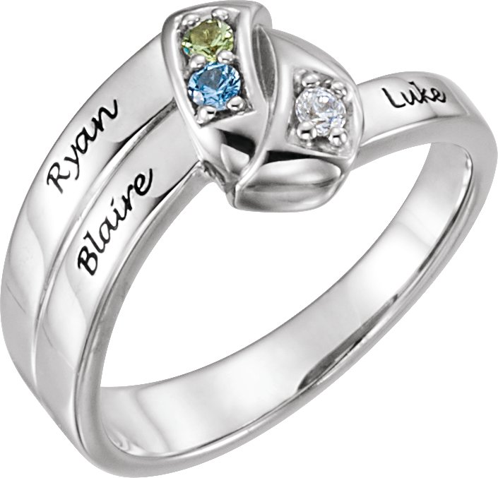 Family Engravable Ring