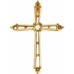 Cross Pendant Mounting