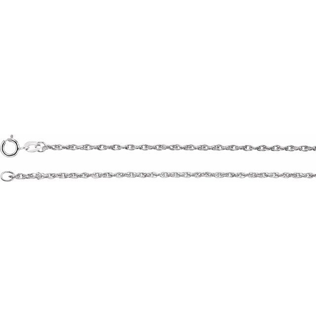 Sterling Silver 1.5 mm Rope 16