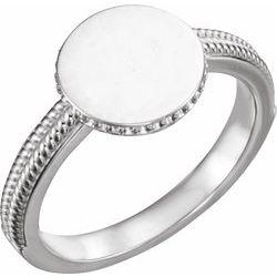 Ladies Signet Ring