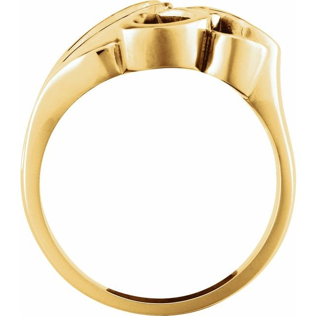 14K Yellow Ring