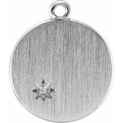 Engravable Pendant or Dangle
