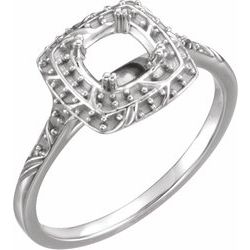 Sculptural-Inspired Engagement Ring