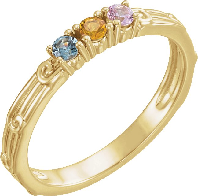 Family Stackable Ring