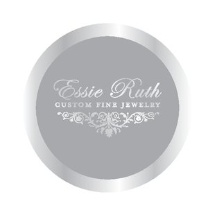 Full Border - Silver seal with Silver metallic foil stamp