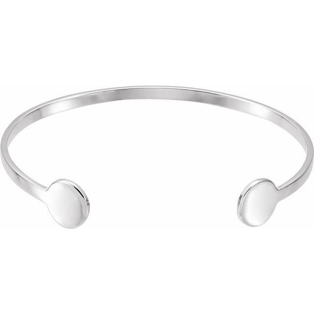 Sterling Silver Cuff 6 3/4