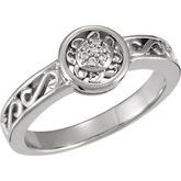 Filigree-Style Ring