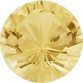 Round Precision-cut Genuine Yellow Sapphire