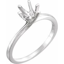 Engagement Ring Mounting & Band