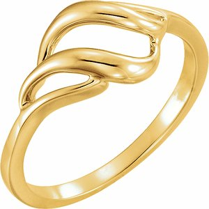 14K Yellow Metal Ring