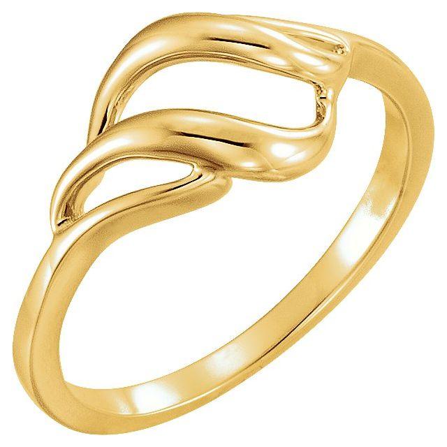 10K Yellow Metal Ring