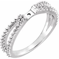 Accented Engagement Ring or Base