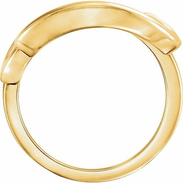 14K Yellow Ladies Ring