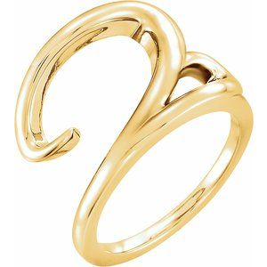 14K Yellow Ladies Ring