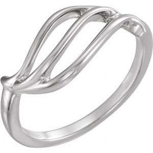 Sterling Silver Freeform Remount Ring