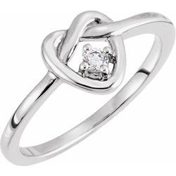 Teen Ring Mounting For Diamond