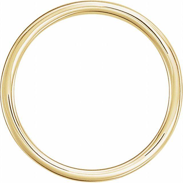 14K Yellow 21x7 mm Geometric Signet Ring