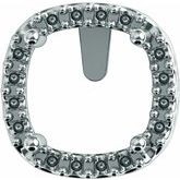 Cushion 4-Prong Halo-Style Earring Setting