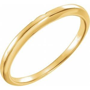 14K Yellow #3 Matching Band