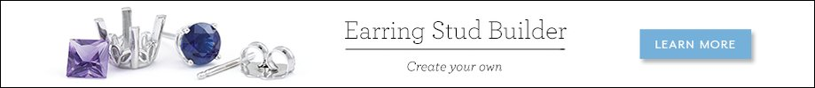 Mountings Launch Page - Earring Stud Builder Banner