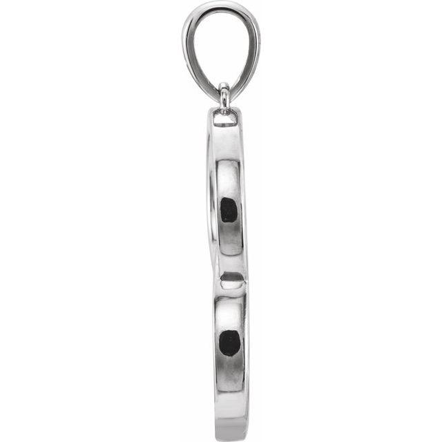 Sterling Silver Interlocking Circle Pendant