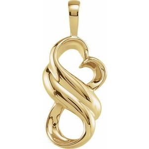 14K Yellow Fashion Pendant