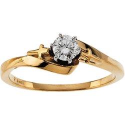 Religious Neosadený Zásnbuný prsteň alebo Ladies/Gents Párové svadobné obrúčky