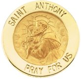 St. Anthony Lapel Pin