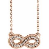 Infinity-Inspired Necklace or Center