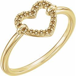 Heart Ring Mounting