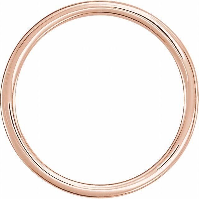 14K Rose 21x7 mm Geometric Signet Ring