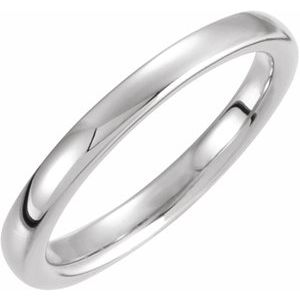 14K White Solstice Solitaire® #13=1.5-2.0 CT Tapered Bombé Matching Band