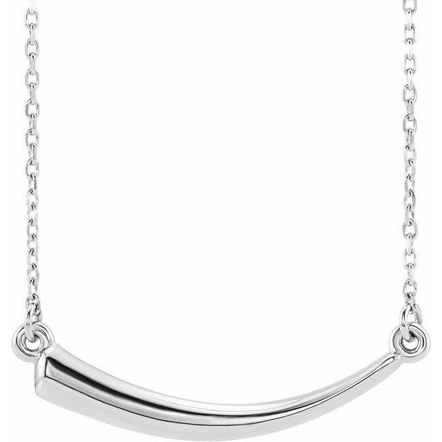 Sterling Silver Horn 16-18