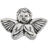 Praying Cherub Lapel Pin