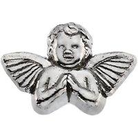 Sterling Silver 11x16 mm Praying Angel Lapel Pin
