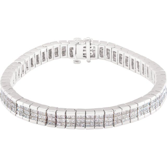 Diamond Line Bracelet