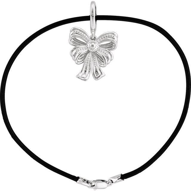 Sterling Silver Vintage-Inspired Bow Bracelet