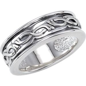 Sterling Silver Decorative Ring