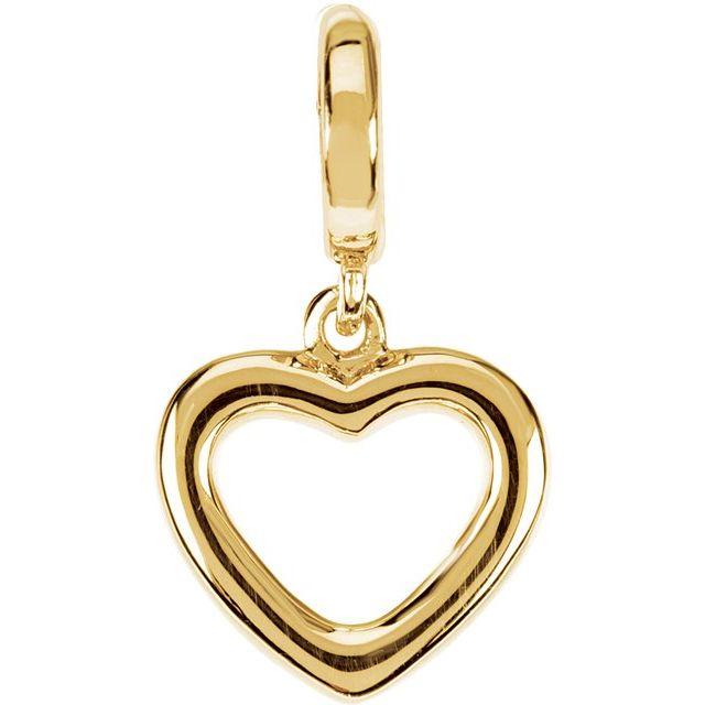 Petite Heart Charm